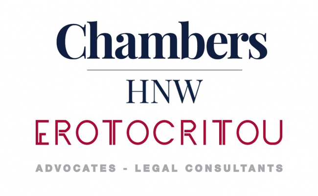 Chambers & Partners High Net Worth 2020: Major award to A.G. Erotocritou LLC